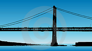 Bridge Illustration Stock Photography - Image: 8573362
