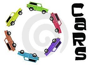 Rainbow Car Stock Photography - Image: 8573832