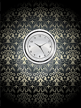 Watch On The Wall Stock Photo - Image: 8573840