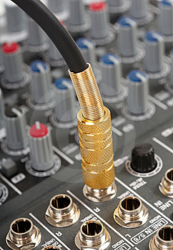 Audio Cable Stock Images - Image: 8574314