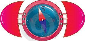 Kompas Immagine Stock - Immagine: 8574411