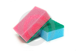 Kitchen Sponges Royalty Free Stock Image - Image: 8574706