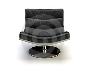 Black Modern Chair Stock Photography - Image: 8575312