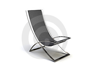 Black Modern Chair Stock Photos - Image: 8575333