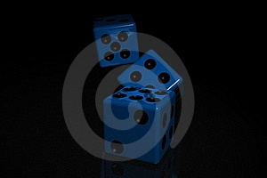 Dices Stock Images - Image: 8576134