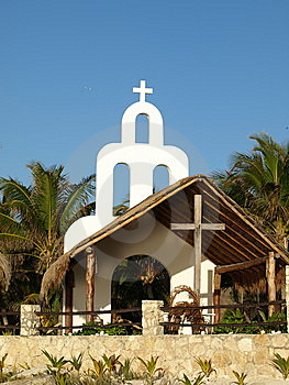 Open Chapel Architecture. Royalty Free Stock Photo - Image: 8576405