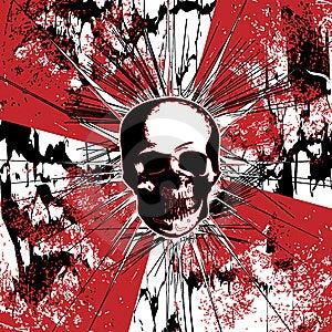 Grunge Square Background Royalty Free Stock Photography - Image: 8576607