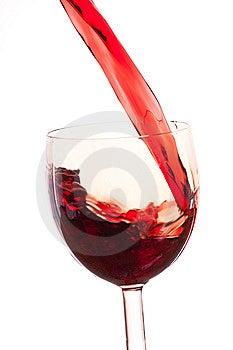 Tła Szkło Nalewa Białego Wino Zdjęcie Royalty Free - Obraz: 8576735