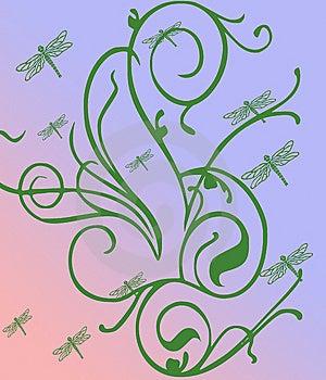 Dragon Flies Royalty Free Stock Image - Image: 8577396