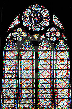 Window Pattern Of  The Church Stock Photography - Image: 8577472