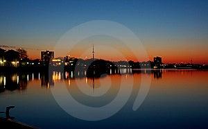 Cracking Dawn - Toronto  3 Royalty Free Stock Photos - Image: 8577798