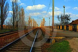 Train Station Stock Image - Image: 8578371