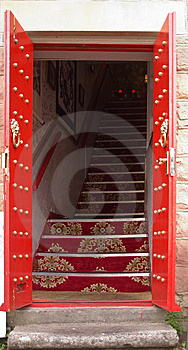 Exotic Entrance Stock Image - Image: 8578681