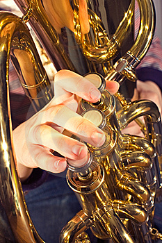 Euphonium Brass Instrument Royalty Free Stock Photos - Image: 8578908