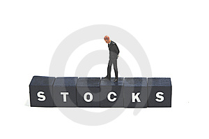 Stock Value Going Down Royalty Free Stock Photo - Image: 8578995