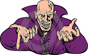 Evil Wizard Royalty Free Stock Photo - Image: 8579385