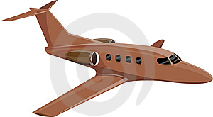 Corporate Jet Plane Royalty Free Stock Photo - Image: 8579395