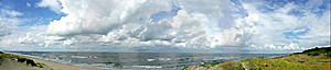 Panorama Of The Sea Royalty Free Stock Image - Image: 8579566