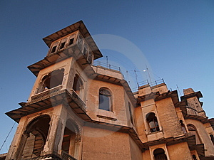 Udaipur Monsoon Palace Stock Image - Image: 8579641