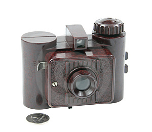 Old Camera Royalty Free Stock Image - Image: 8579906