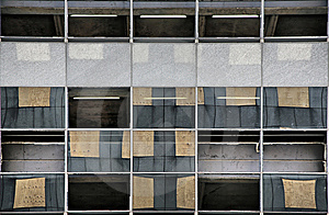 Missing Windows, New Windows Royalty Free Stock Images - Image: 8579919