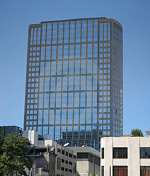 Big Square Building Stock Images - Image: 8579974