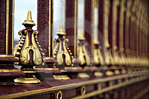 Decorative Portcullis Stock Photography - Image: 8579992