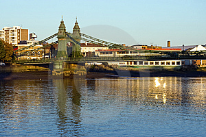 Hammersmith Bridge Royalty Free Stock Photography - Image: 8580257