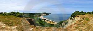 Panorama Of Coast Stock Image - Image: 8580571