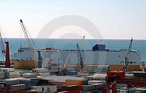 Puerto Comercial, Salerno Imagenes de archivo - Imagen: 8580884