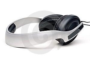 Headphones On White Royalty Free Stock Photo - Image: 8581365