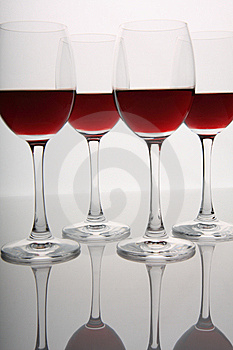 Wine Glasses Stock Image - Image: 8582051