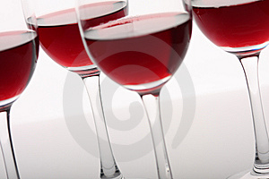 Wine Glasses Royalty Free Stock Photos - Image: 8582118