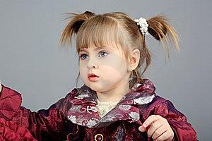 Modern Meisje Stock Fotografie - Afbeelding: 8583172