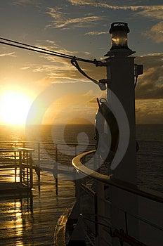Early Morning Lifebouy Royalty Free Stock Image - Image: 8583186