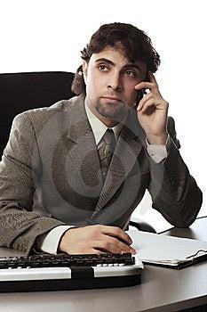 Telemarketing Stock Photography - Image: 8583472