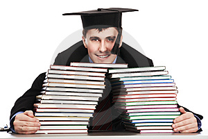 Graduation Stock Photo - Image: 8583550