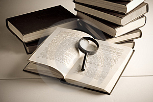Books On The Table Stock Photography - Image: 8583902
