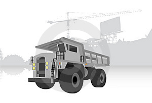 Quarry Truck Royalty Free Stock Photos - Image: 8583918