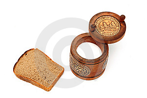 Bread And Salt Stock Photo - Image: 8584070