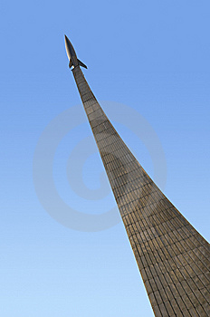 Monument Of Astronautics In Moscow. Royalty Free Stock Photo - Image: 8584295