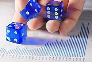Business Is Gamble Stock Photo - Image: 8584530