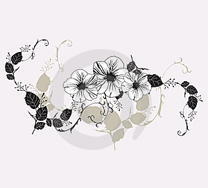 Floral Background Stock Photos - Image: 8584693