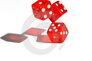 Dices Royalty Free Stock Photo - Image: 8584825