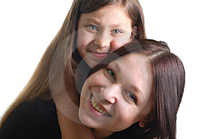 Mother And Daughter Royalty Free Stock Photo - Image: 8585235