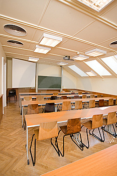 Empty Classroom Stock Photography - Image: 8585392