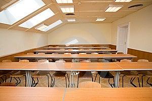Empty Classroom Stock Image - Image: 8585551