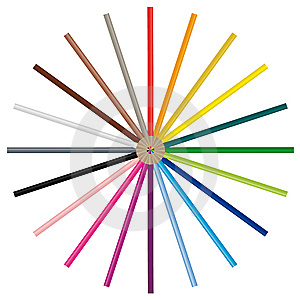 Color Pencils - Vector Image Stock Image - Image: 8585651