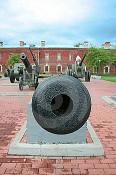 Old Russian Cannon Stock Photography - Image: 8585702