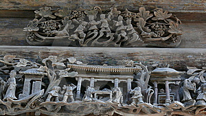 Fine Carvings Royalty Free Stock Image - Image: 8585906